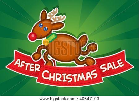 After Christmas Sale / Reindeer