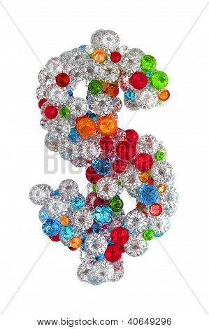 Dollar Sign  From Gems