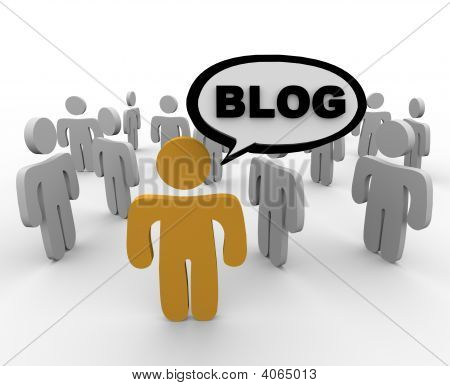 Blogger And His Audience