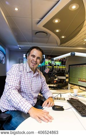702 Radio Host Bruce Whitfield Live In Studio