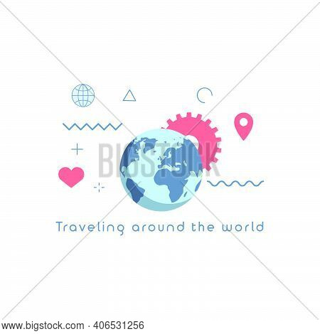 Traveling Around The World Concepts.
