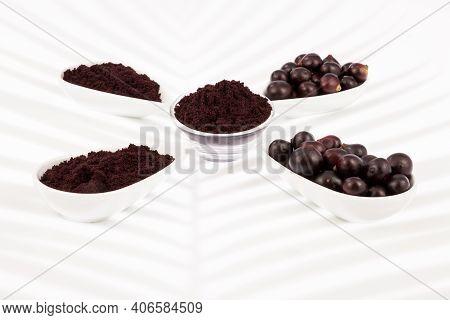 Fruit And Acai Powder - Euterpe Oleracea.