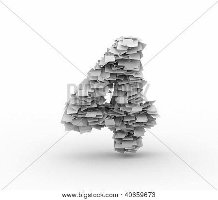 Big Pile Of Paper, Number 4