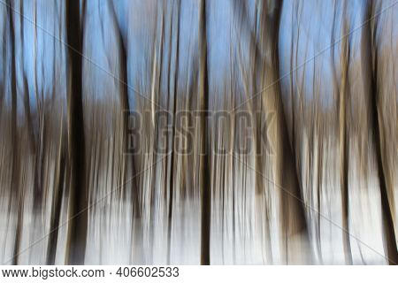 Winter abstract background from outdoor landscape