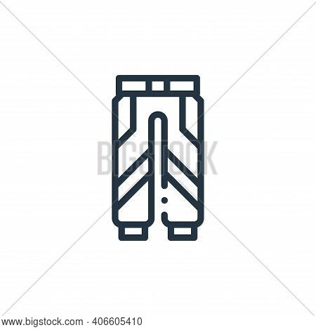 uniform icon isolated on white background from autoracing collection. uniform icon thin line outline