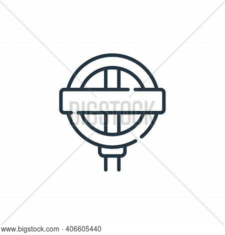 underground icon isolated on white background from england collection. underground icon thin line ou