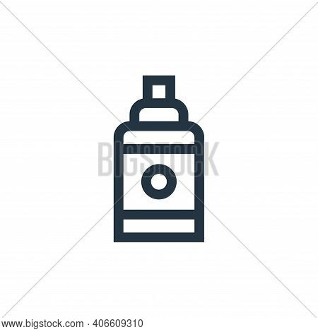 shampoo icon isolated on white background from pet shop collection. shampoo icon thin line outline l