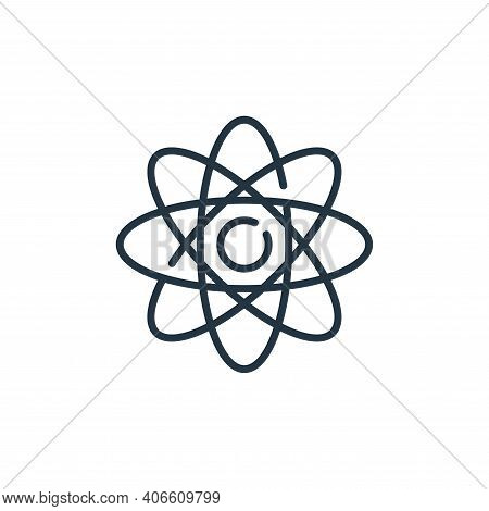 science icon isolated on white background from technology of the future collection. science icon thi