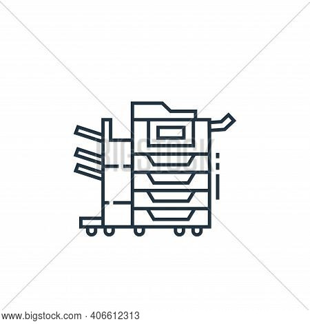 photocopier icon isolated on white background from technology devices collection. photocopier icon t
