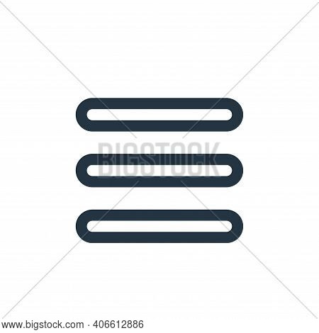 option icon isolated on white background from interface collection. option icon thin line outline li