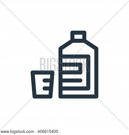mixture icon isolated on white background from medicine collection. mixture icon thin line outline l