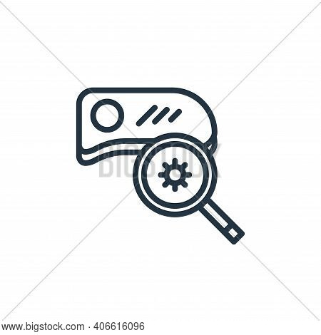 medical equipment icon isolated on white background from pandemic collection. medical equipment icon