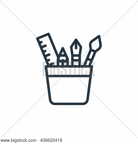 graphic tool icon isolated on white background from graphic design collection. graphic tool icon thi