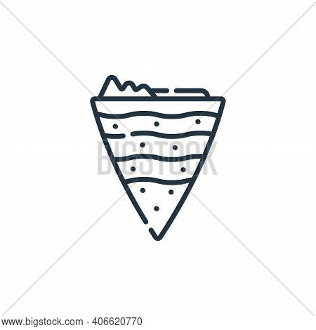 geography icon isolated on white background from academy collection. geography icon thin line outlin