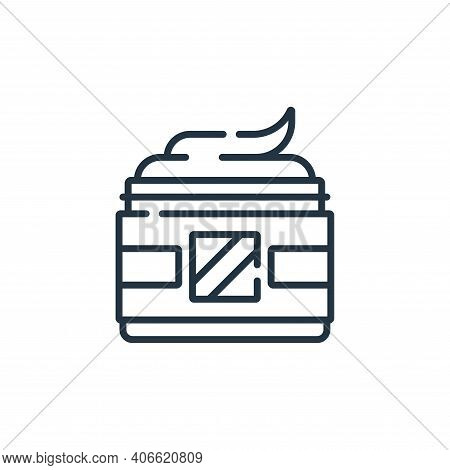 gel icon isolated on white background from hairdressing and barber shop collection. gel icon thin li
