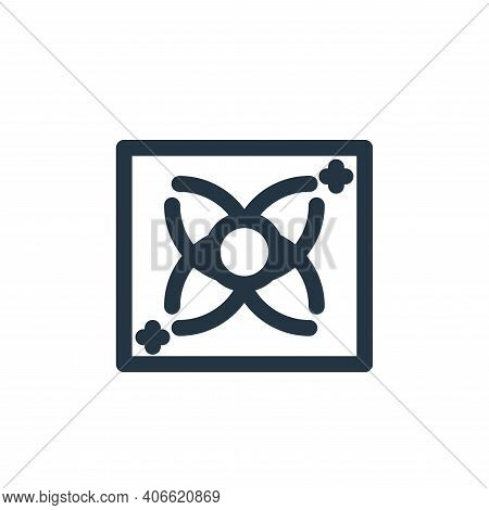 gas icon isolated on white background from coronavirus collection. gas icon thin line outline linear