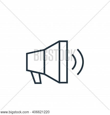focus icon isolated on white background from user interface collection. focus icon thin line outline