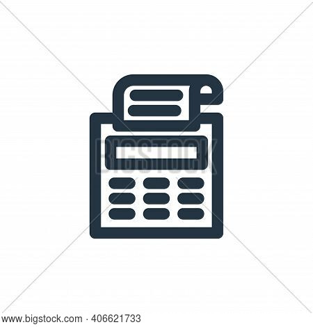 fax machine icon isolated on white background from marketing business collection. fax machine icon t