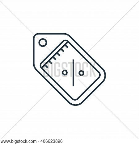 discount tag icon isolated on white background from online shopping collection. discount tag icon th