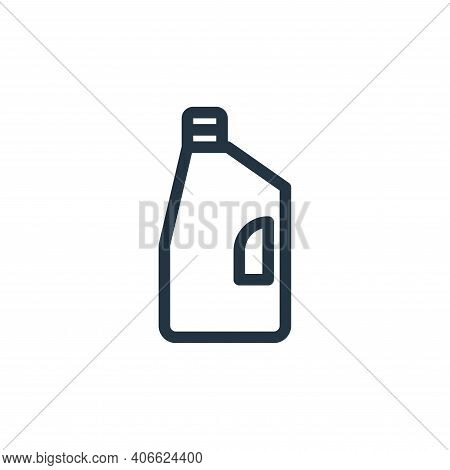 detergent icon isolated on white background from fashion collection. detergent icon thin line outlin