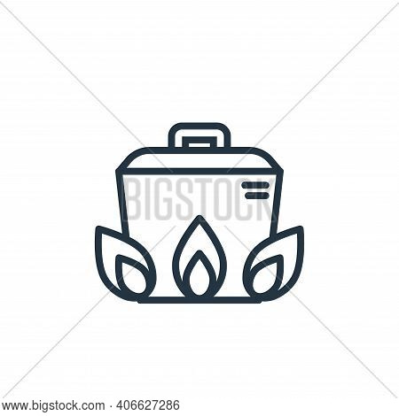 cooking icon isolated on white background from pandemic collection. cooking icon thin line outline l