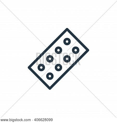color palette icon isolated on white background from school collection. color palette icon thin line