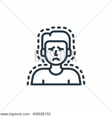 cold icon isolated on white background from coronavirus collection. cold icon thin line outline line