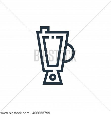 blender icon isolated on white background from inside home collection. blender icon thin line outlin