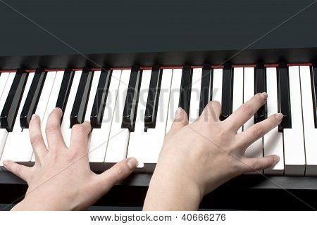 Piano And Hands