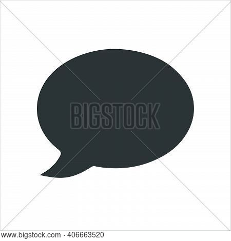Speech Bubble Icon Isolated On White Background. Trendy Speech Bubble Icons And Modern Speech Bubble