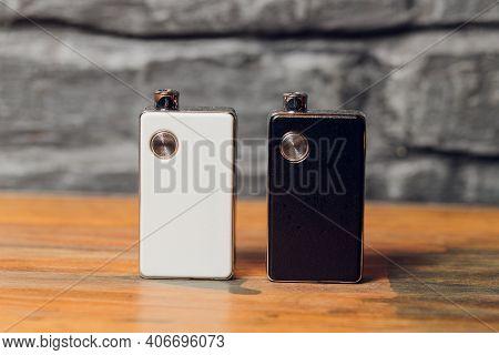 Pod Vaping Pen, Vape Devices, Mods For Electronic Cigarette Or E Cigarette, E Cig.