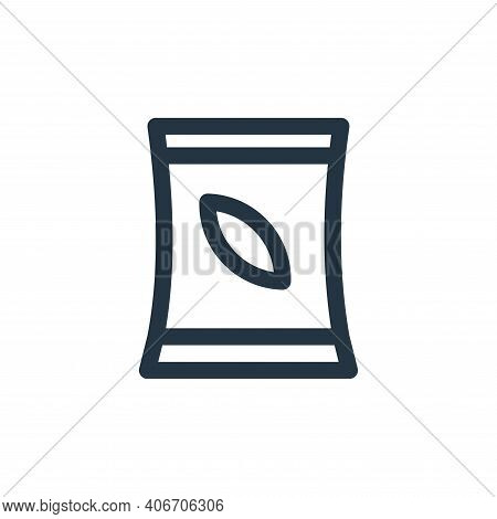 tree seed icon isolated on white background from landscaping equipment collection. tree seed icon th