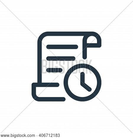 text icon isolated on white background from web apps seo collection. text icon thin line outline lin