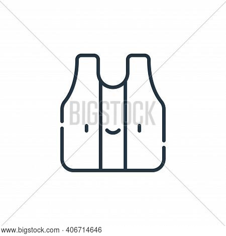 tank top icon isolated on white background from reggae collection. tank top icon thin line outline l