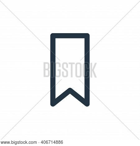 tag icon isolated on white background from marketing business collection. tag icon thin line outline