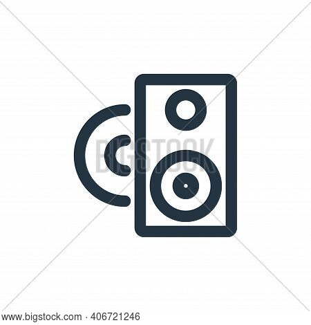 sound icon isolated on white background from holiday collection. sound icon thin line outline linear