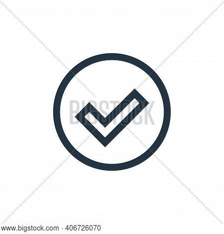 sign icon isolated on white background from web essentials collection. sign icon thin line outline l