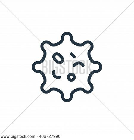 shape icon isolated on white background from coronavirus collection. shape icon thin line outline li