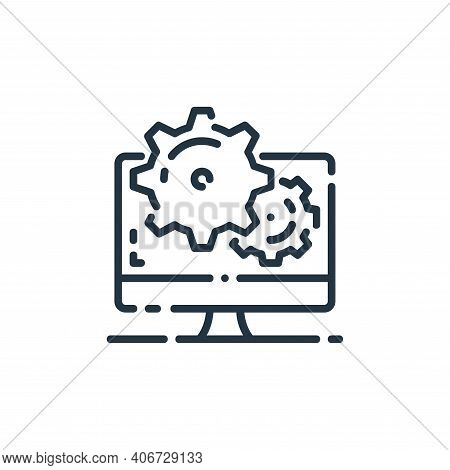 seo icon isolated on white background from startup collection. seo icon thin line outline linear seo