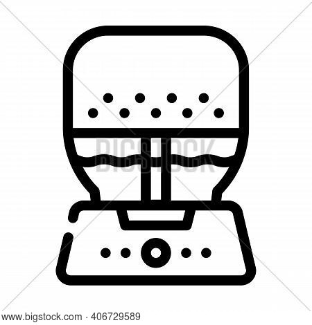 Air Purifier And Humidifier Line Icon Vector Illustration