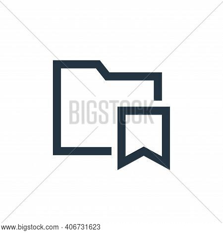 saved icon isolated on white background from email collection. saved icon thin line outline linear s