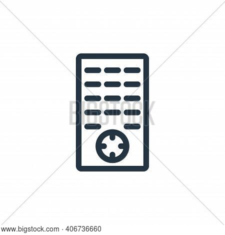 remote icon isolated on white background from technology collection. remote icon thin line outline l