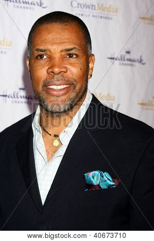 LOS ANGELES - JAN 4:  Eriq LaSalle arrives at the Hallmark Channel 2013 Winter TCA Party. at Huntington Library & Gardens on January 4, 2013 in San Marino, CA