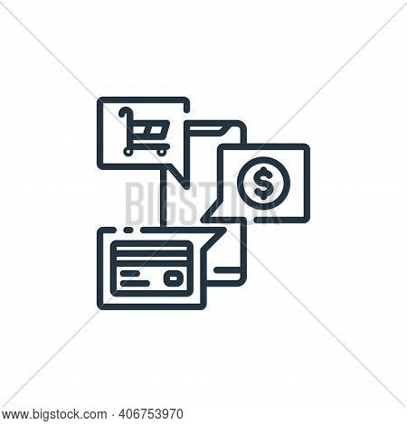 payment method icon isolated on white background from banking and money collection. payment method i