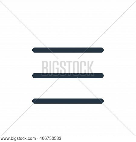 open menu icon isolated on white background from multimedia collection. open menu icon thin line out