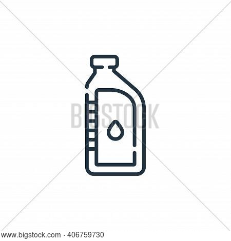 oil icon isolated on white background from auto racing collection. oil icon thin line outline linear
