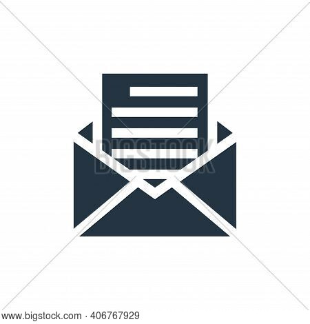 message icon isolated on white background from advertisement collection. message icon thin line outl