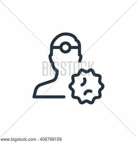 medical doctor icon isolated on white background from coronavirus collection. medical doctor icon th