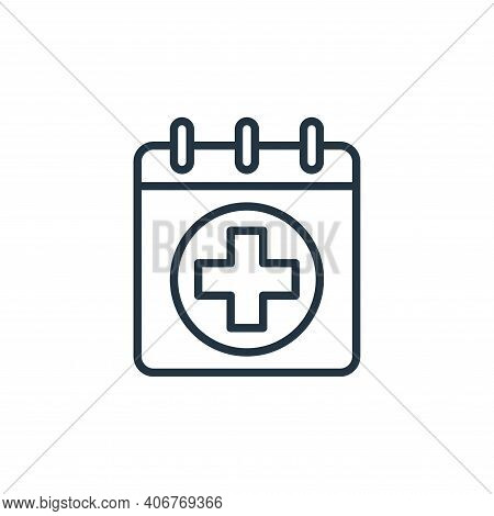 medical icon isolated on white background from hospital collection. medical icon thin line outline l