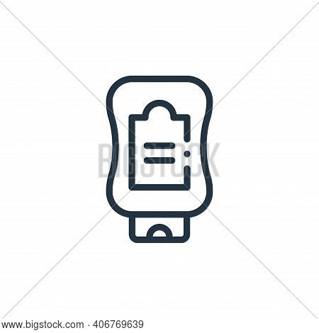 mayonnaise icon isolated on white background from plastic products collection. mayonnaise icon thin